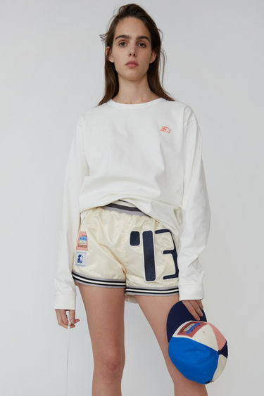 아크네 스튜디오 Acne Studios Long sleeve t-shirt off white