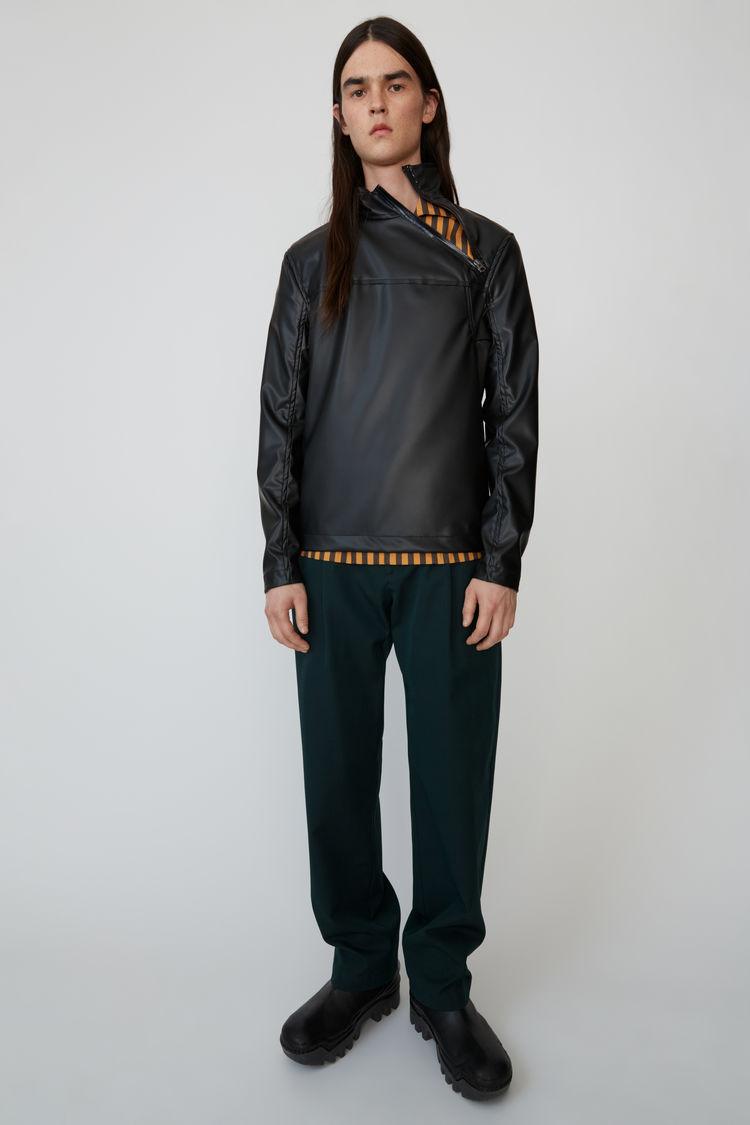 아크네 스튜디오 Acne Studios Zipped pullover black