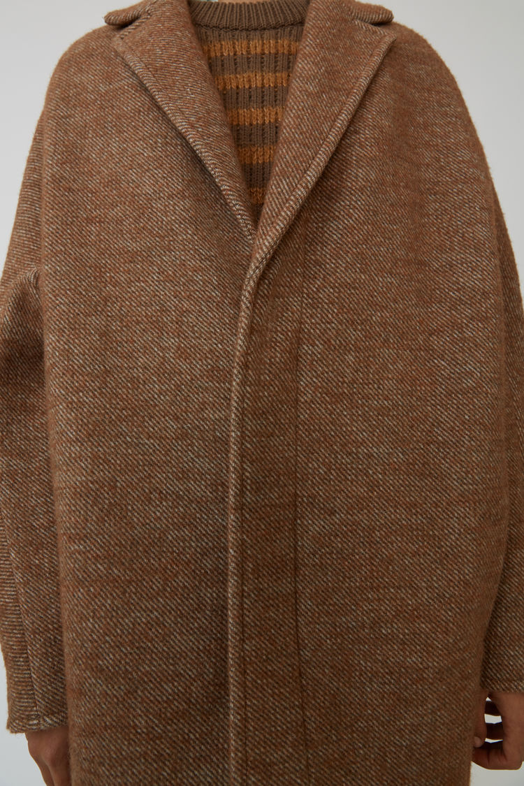 Acne Studios - Cocoon jacket Camel brown - 5