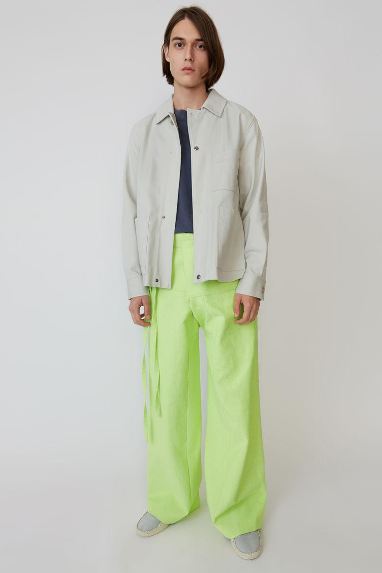 Acne Studios - Cotton jacket Cold white - 1