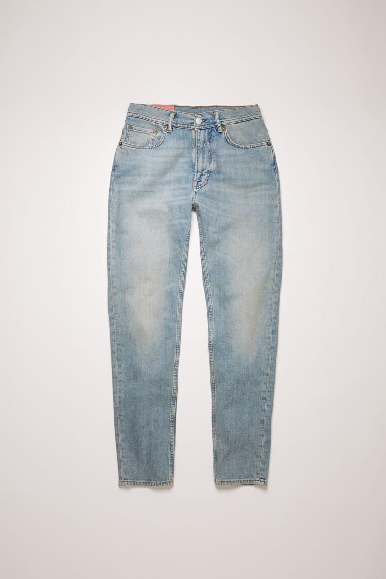 아크네 스튜디오 Acne Studios Slim tapered fit jeans light blue