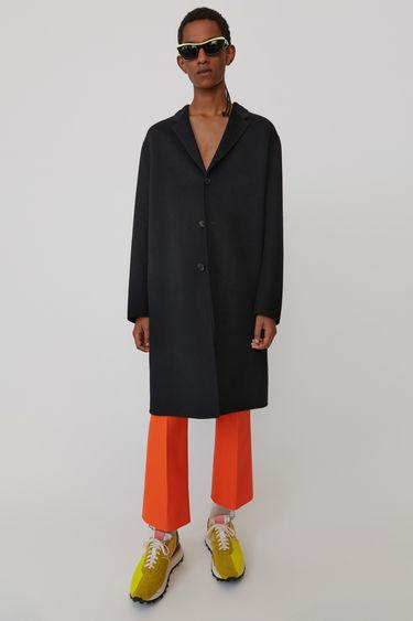 아크네 스튜디오 Acne Studios Oversized coat black