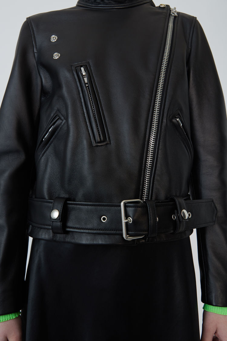 Acne Studios - Motorcycle jacket Black - 5