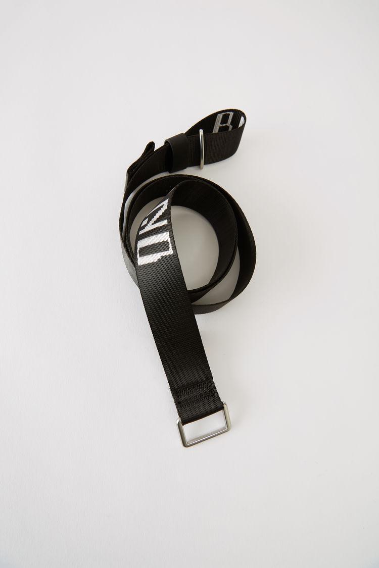 Acne Studios - Welte Brand Schwarz-Weiß - 1