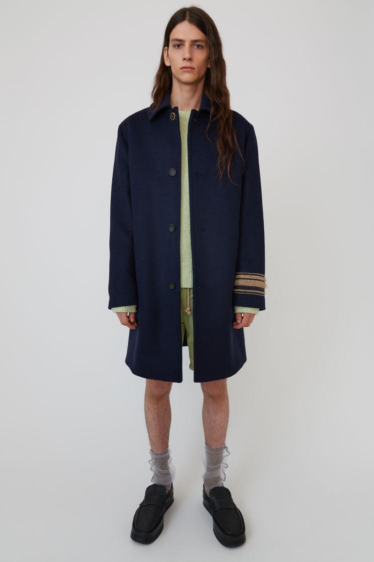 Acne Studios - Wool coat Navy blue - 1
