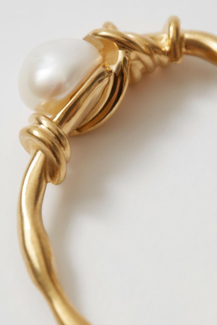 Acne Studios - Handmade earring Gold - 2