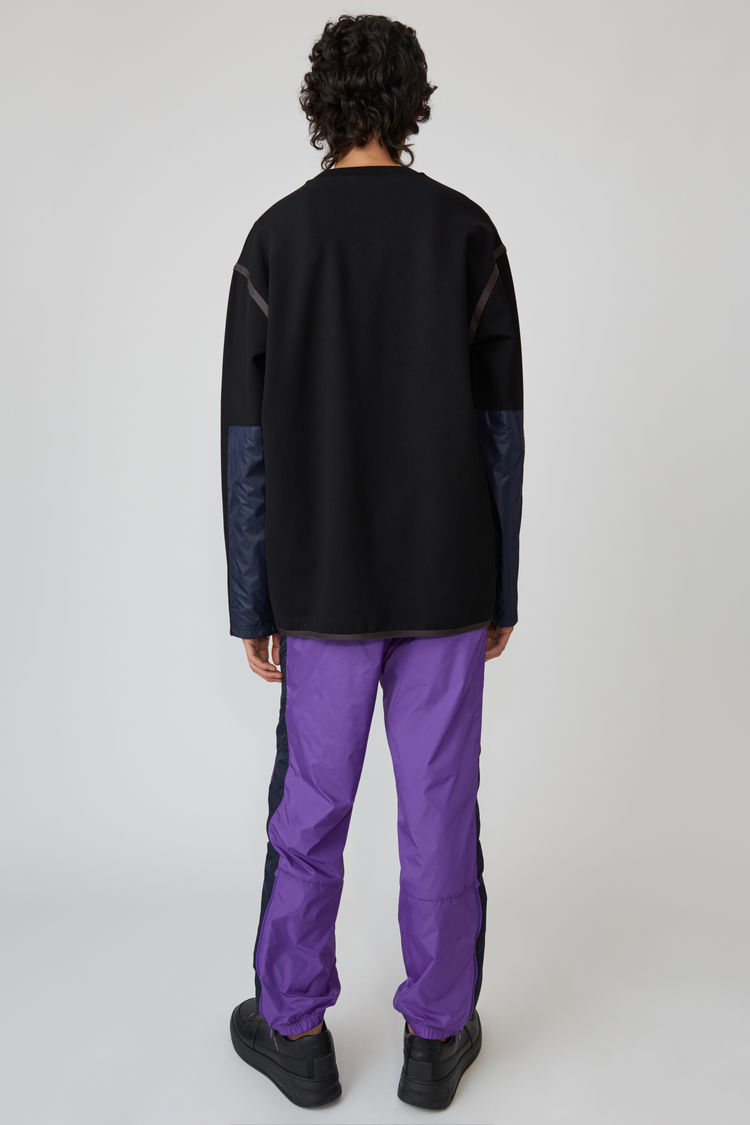 Acne Studios - Crewneck sweater Black - 3