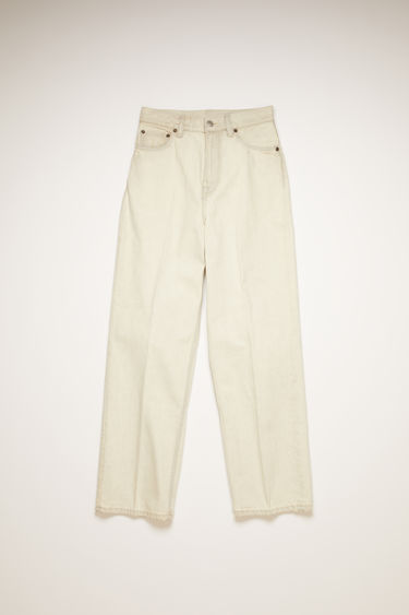 Acne Studios 1993 Cream Marble jeans are crafted from rigid denim that's stonewashed to give a worn-in appeal. They're cut to relaxed fit, with a super high-rise silhouette that slightly tapers towards the ankle.