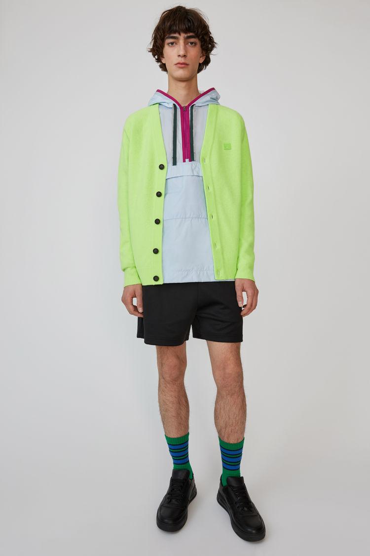 Cardigan sweater Lime green