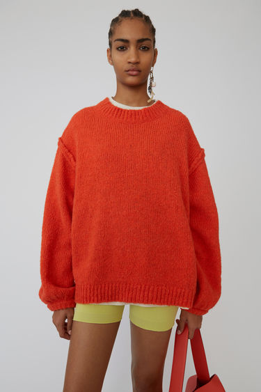 Ready-to-wear FN-WN-KNIT000086 Coral red 375x
