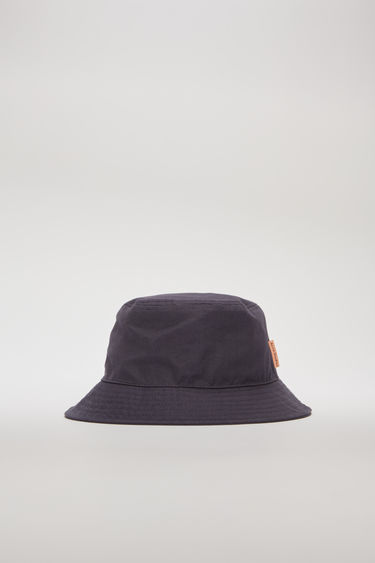Acne Studios space blue bucket hat is made from durable cotton canvas and features a flat-topped crown and a quilted brim.