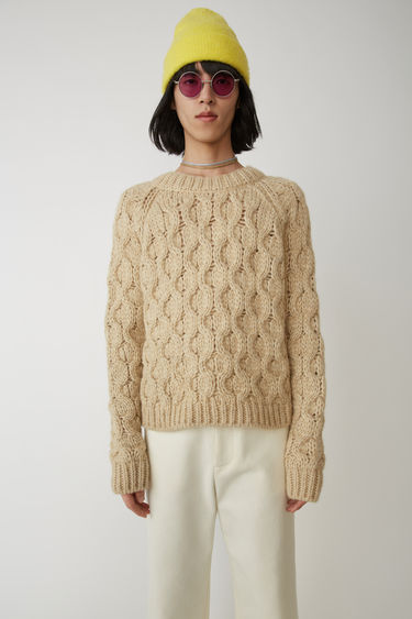 Ready-to-wear FN-MN-KNIT000009 Beige melange 375x