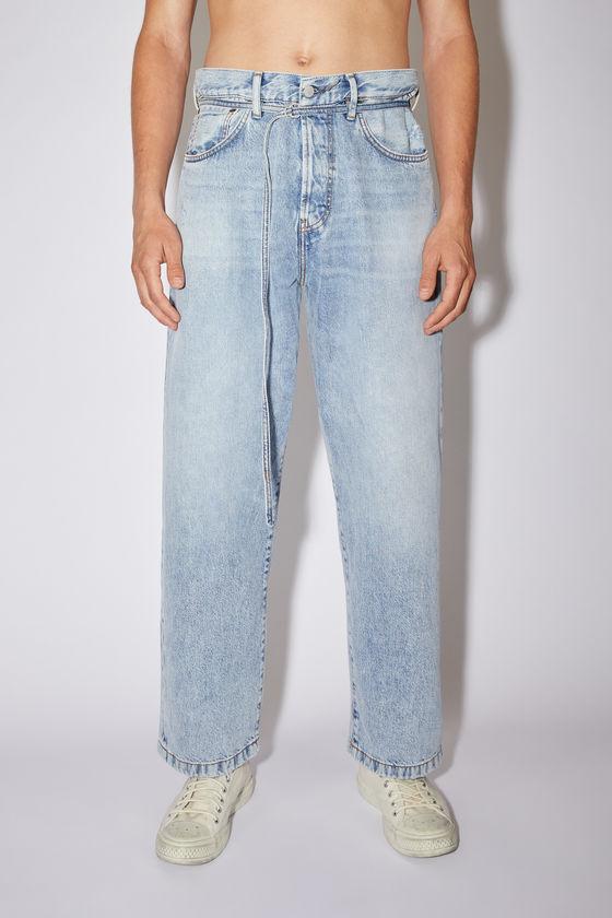 아크네 스튜디오 청바지 Acne Studios Loose fit jeans - Light blue