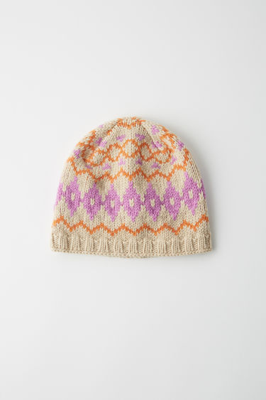 Accessories FN-WN-HATS000001 Beige/pink 375x