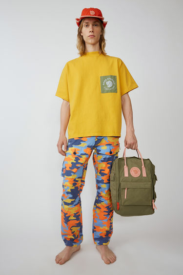 Fjällräven Räv Patch A/F Sunflower yellow 375x