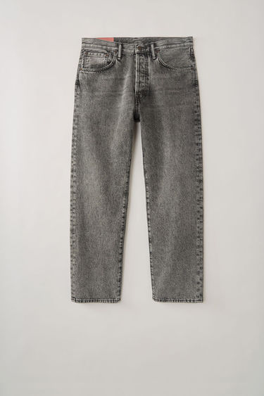 Acne Studios Blå Konst 2003 Black Marble jeans are cut to sit low on the waist and have a dropped inseam that sets a loose silhouette. They are finished with a classic five-pocket construction.