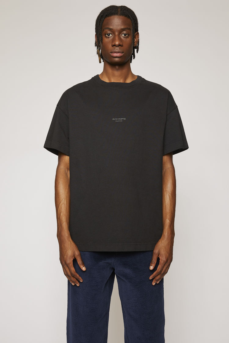 ACNE STUDIOS Oversized t-shirt Black