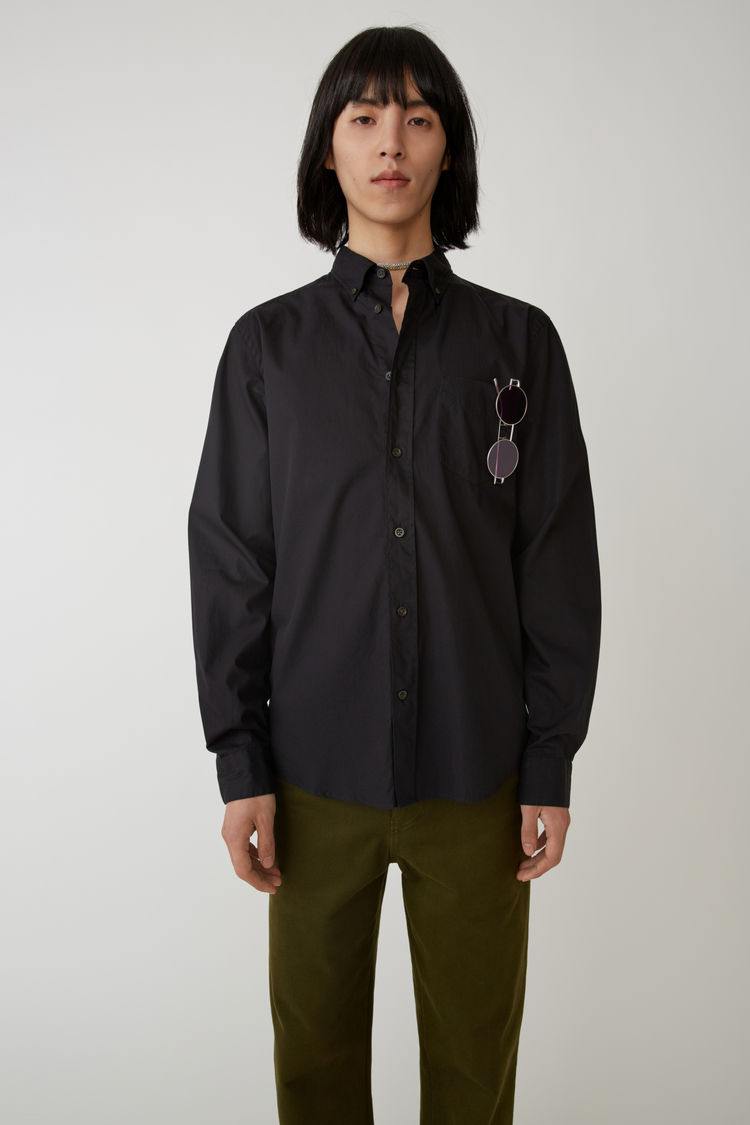 Classic Fit Shirt Black by Acne Studios