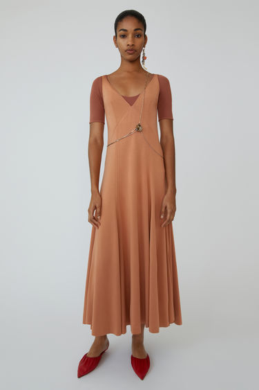 Ready-to-wear FN-WN-DRES000134 Rusty peach 375x