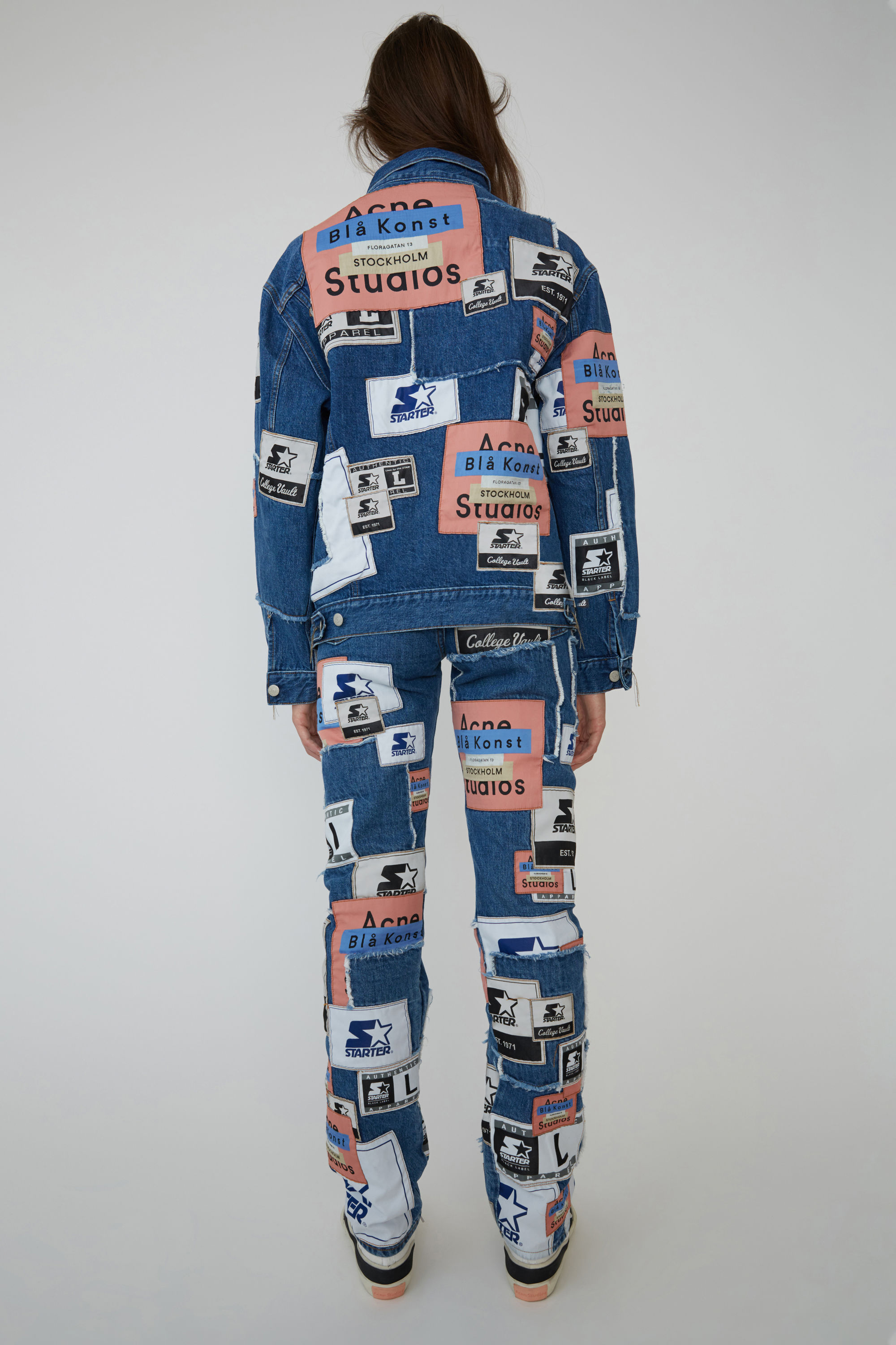 BLÅ KONST Acne Studios 2000 Collab Patch Mid blue 1500x 003