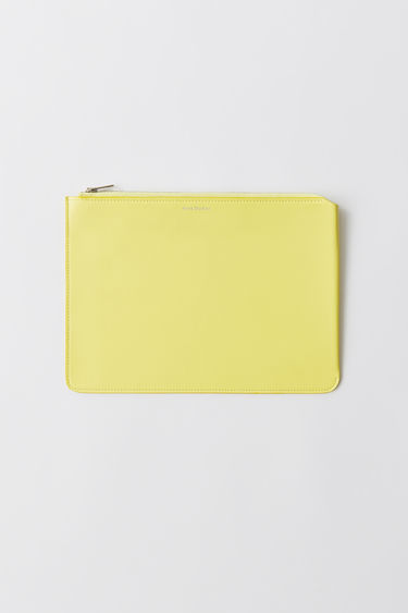 Leather goods Malachite S L Pale yellow 375x