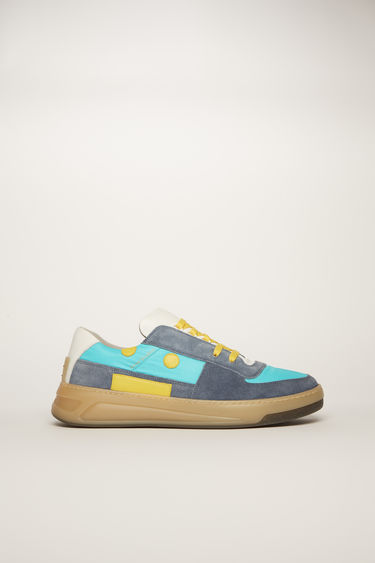 Face Perey Lace Up Em Blue/turquoise/beige 375x