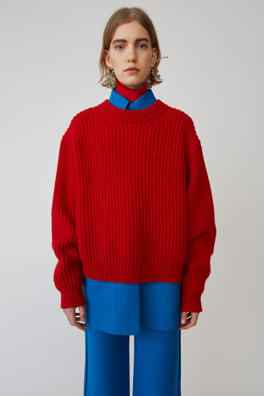 Acne Studios FN-WN-KNIT000015 Red 375x