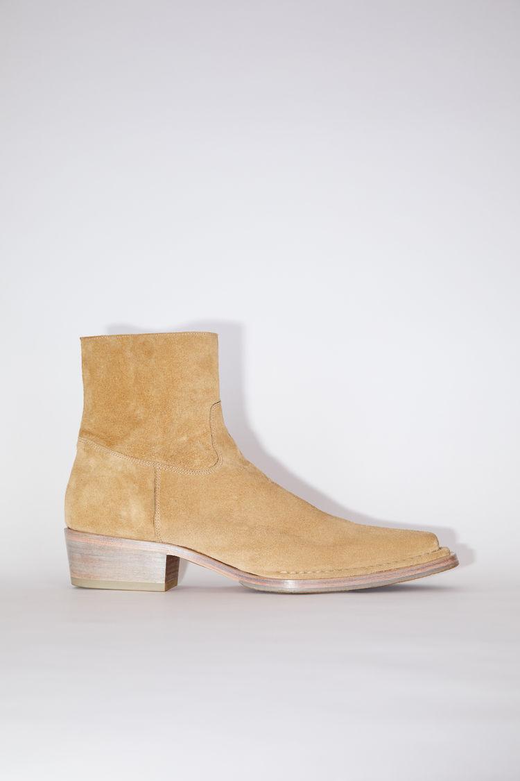 Acne Studios Ankle boots Desert beige