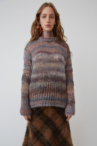 Acne Studios FN-WN-KNIT000013 Grey/multi 375x
