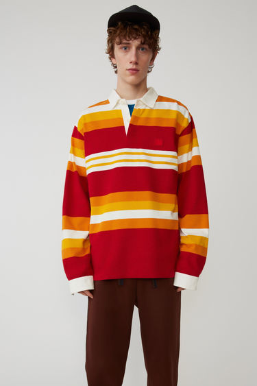 Acne Studios FA-UX-TSHI000008 Red/yellow 375x
