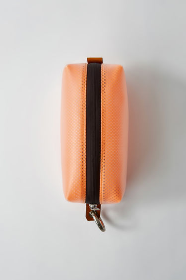Leather goods FN-MN-BAGS000006 Neon orange 375x