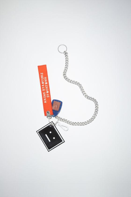 아크네 스튜디오 키체인 Acne Studios Face keychain - Mandarin orange