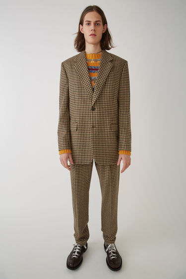 Acne Studios FN-MN-SUIT000005 Beige/brown 375x
