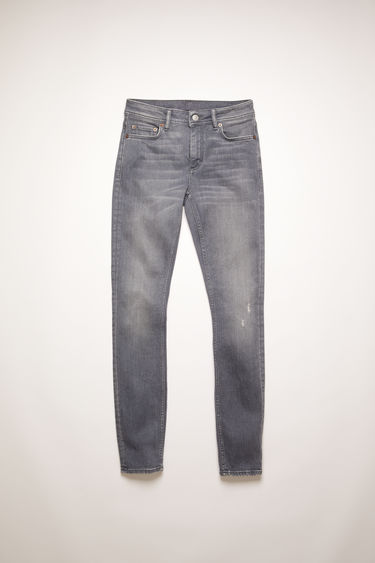 Acne Studios Climb Superstretch Grey jeans are crafted from super stretch denim that's washed for a soft, faded finish. They sit at a mid-rise with skinny legs that taper and crop at the ankles.