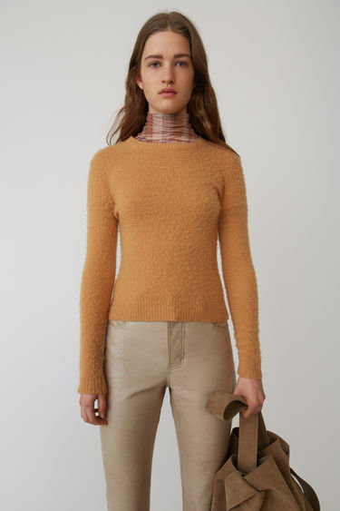 Acne Studios FN-WN-KNIT000025 Camel brown 375x