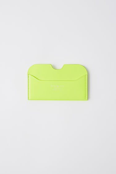 Leather goods FN-UX-SLGS000053 Fluo yellow 375x