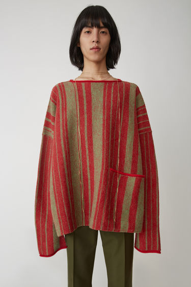 Acne Studios FN-MN-KNIT000024 Green/red 375x