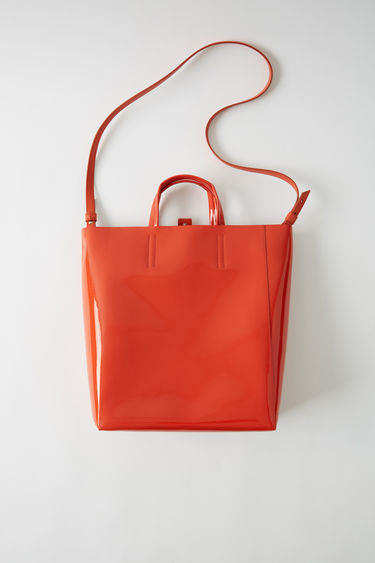 Leather goods Baker Patent M Orange 375x