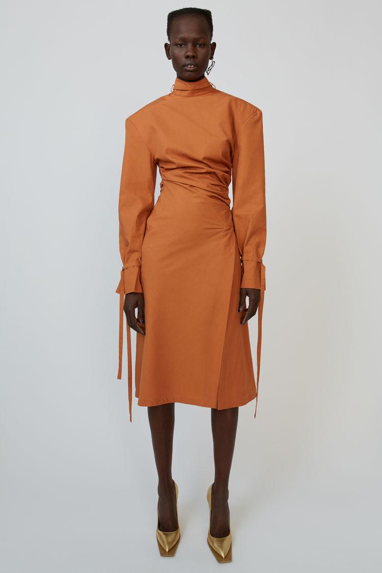 Robe Longueur 7/8 Dusty Orange by Acne Studios