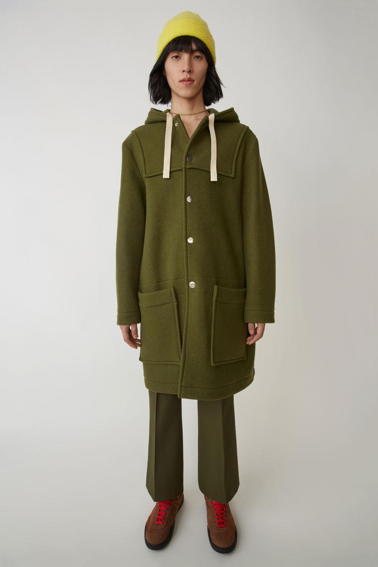 Loose Studios Fitting Vert Acne Coat Duffle Oqq8gxwz6