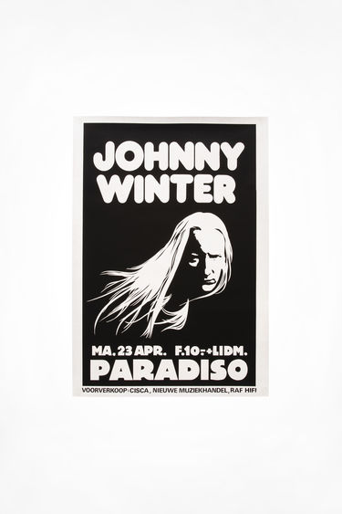 Johnny Winter Auction Johnny Winter Vintage 58 Black/White 375x