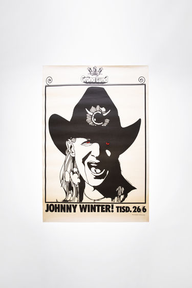 Johnny Winter Auction Johnny Winter Vintage 36 Off White/Black 375x