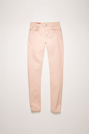 Acne Studios Climb Rose jeans are crafted from super stretch denim and shaped to a mid-rise silhouette before falling into cropped, skinny legs.