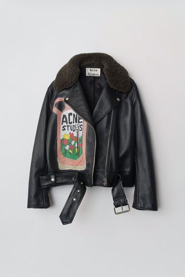 Acne Studios SP-WN-LEAT000001 Black 375x