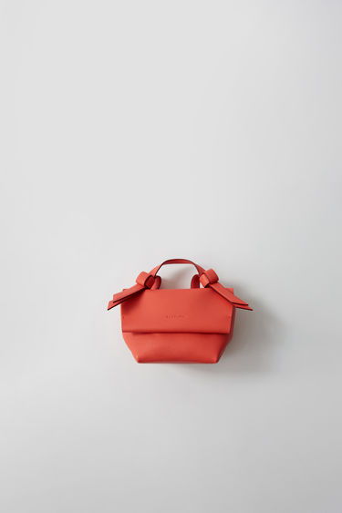 Leather goods Musubi Milli Coral red/burgundy 375x