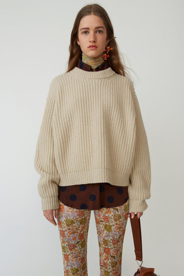 Acne Studios FN-WN-KNIT000015 Cold beige 375x