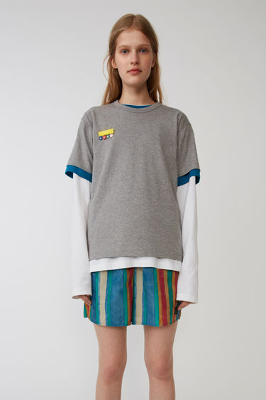 Acne Studios FA-UX-TSHI000001 Light Grey Melange 750x
