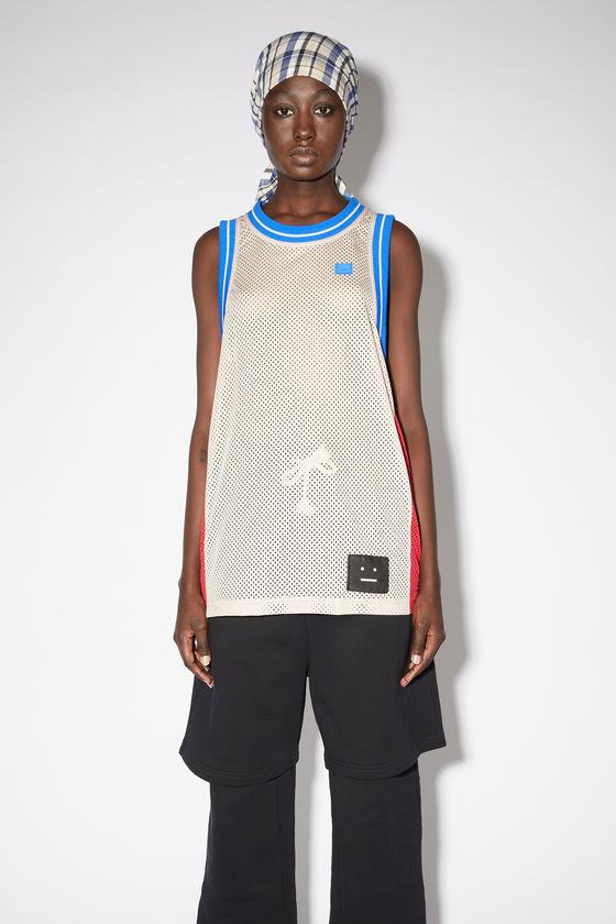 아크네 스튜디오 민소매티 Acne Studios Basketball jersey - Oat beige