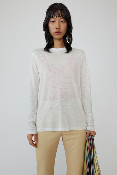 Ready-to-wear Taline LS Linen オフホワイト 375x