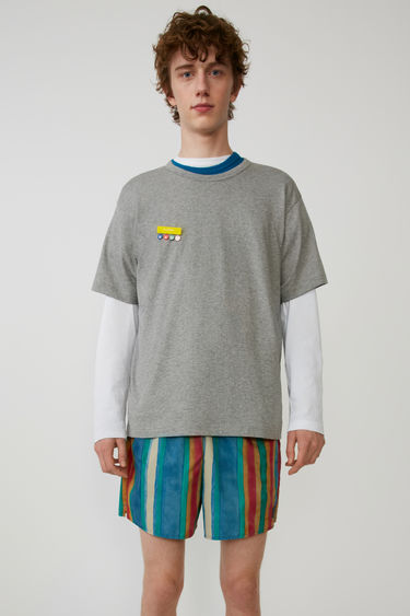Acne Studios FA-UX-TSHI000001 Light Grey Melange 375x